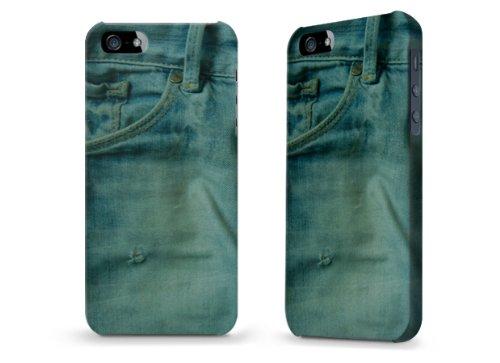 """Hülle / Case / Cover für iPhone 5 und 5s - """"Jeans"""""""