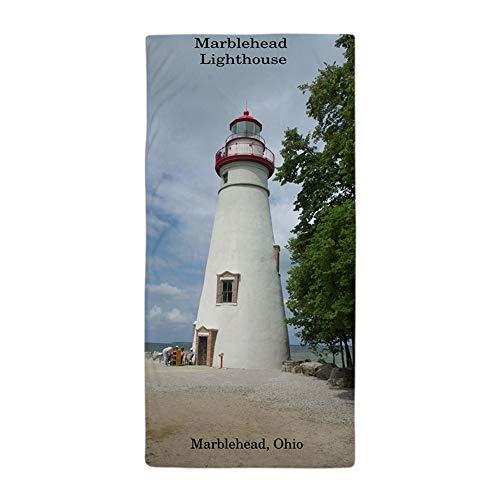 CafePress Marblehead Lighthouse Large Beach Towel, Soft 30