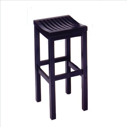 Home Style 5641-88 Black Finish Bar Stool, 29-Inch by Home Styles