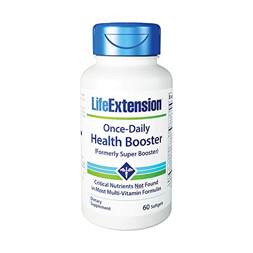 Life Extension Once-Daily Health Booster (formerly Super Booster) 60 Softgels - ()