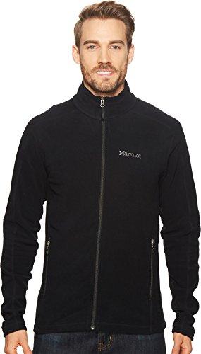 Marmot Men's Rocklin Jacket Black Large (Mens Marmot Fleece)
