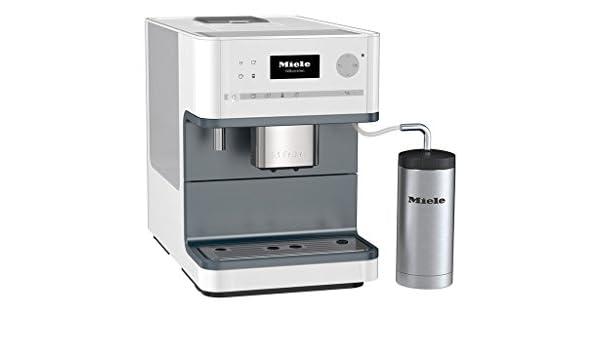 Miele CM 6300 Independiente Totalmente automática Máquina espresso 1.8L Blanco - Cafetera (Independiente, Máquina espresso, 1,8 L, Molinillo integrado, 1500 W, Blanco): Amazon.es: Hogar