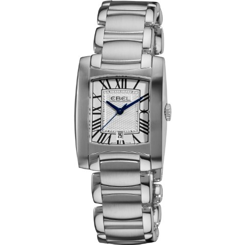 Ebel Brasilia Women's Silver Dial Stainless Steel Quartz Watch 9257M31/61500 - 1216036