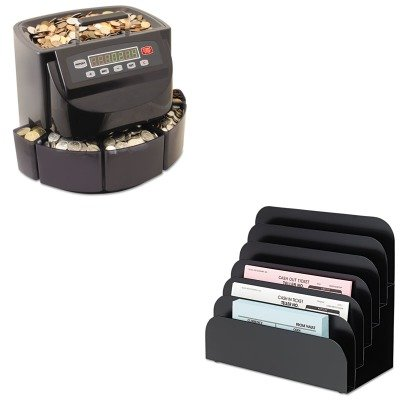KITMMF200200CMMF267060604 - Value Kit - MMF Cashier Pad Rack (MMF267060604) and MMF Coin Counter/Sorter (MMF200200C)