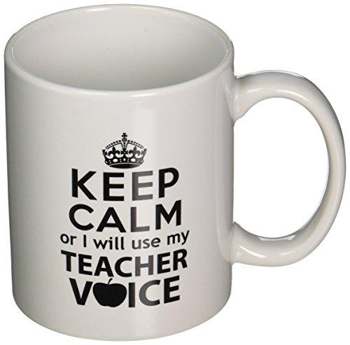 Teacher Voice Ounces Coffee Willcallyou