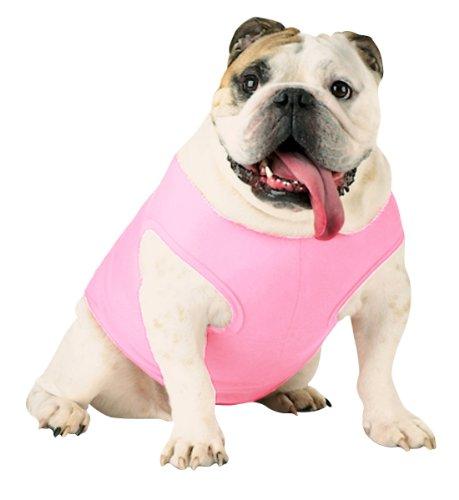 Doggie Skins 3902 Baby Rib Dog Tank - Pink, XS