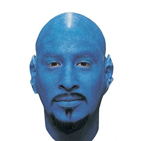 Woochie by Cinema Secrets Bald Cap - Blue, Multi, One Size -