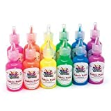Color Splash! Fluorescent Fabric Paint 1 Oz. (Pack of 12)