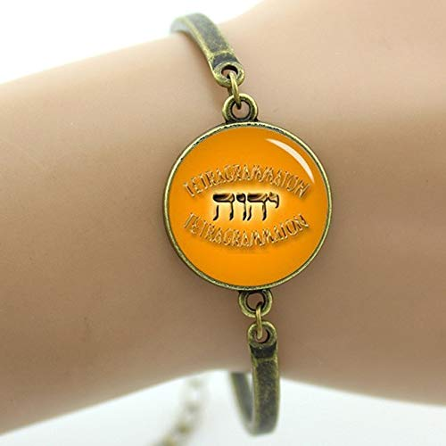 Chain & Link Bracelets - Vintage Tetragrammaton Symbol Bracelet Classic Jehovah's Witnesses Gift Jewelry Halloween Witch Holiday Gifts for Men Women T241 - by Mct12-1 PCs