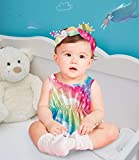 Toddler Girl Funny Snap Buttons Bodysuits