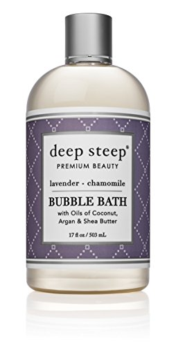 Deep Steep Bubble Bath, Lavender Chamomile, 17 (Best Bubble Bath Products)
