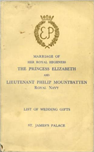 list of wedding presents marriage of her royal highness the