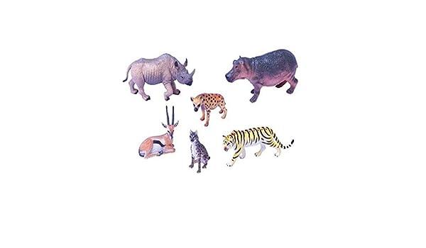 Amaya 800601 - Juego de Figuras y Animales, diseño de Tigre ...
