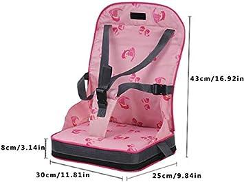 Baby Esszimmerstuhl Tasche Tragbarer Stuhl Tragbarer Esszimmerstuhl Tasche L/ätzchen Mumienbeutel XIAMUSUMMER Sitzerh/öhung Kinder Esszimmerstuhl Sitzkissen Tragbare
