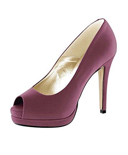 Peep Heine von Schuhe Damen Toe Cyclam Heels High Pumps rwnRrCqO