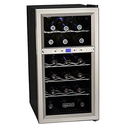Koldfront TWR181ES 18 Bottle Dual Zone Freestanding Thermoelectric Wine Cooler 775