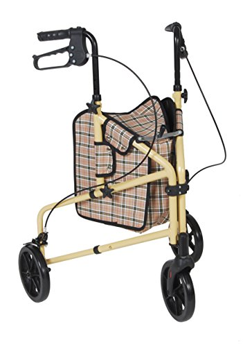 Drive Winnie Lite Supreme 3 Wheel Rollator Rolling Walker, Model - 199