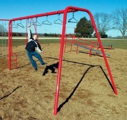 Sport Play 511-119 Swing Bars - Galvanized by Sports Play Equipment