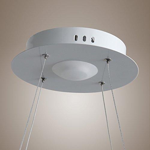 lightinthebox pendant light modern design living led ringhome ceiling light fixture flush mount. Black Bedroom Furniture Sets. Home Design Ideas