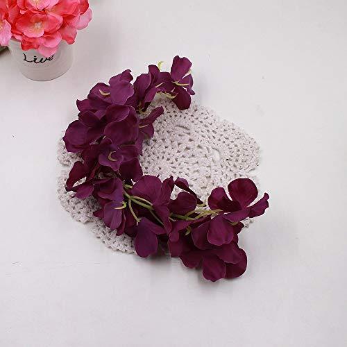 Sympathy Standing Spray - CoronationSun - Flower White - 1pcs 30cm Home Fashion Artificial Hydrangea Party Romantic Wedding Decorative Silk Garlands of Artificial Flowers Silk