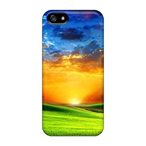 Jeffrehing Scratch-free Phone Case For Iphone 5/5s- Retail Packaging - Sunrise