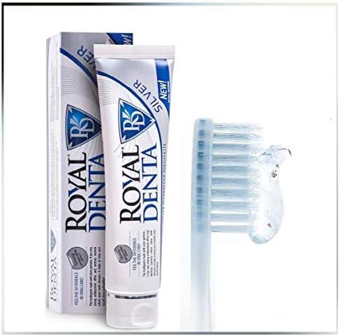 Royal Denta de Plata, Pasta de diente 130gr.: Amazon.es: Salud y ...