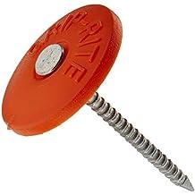 """Grip Rite 112PRCAP1 1 lb Round Plastic Cap Grip-Cap Nail, 1-1/2"""""""