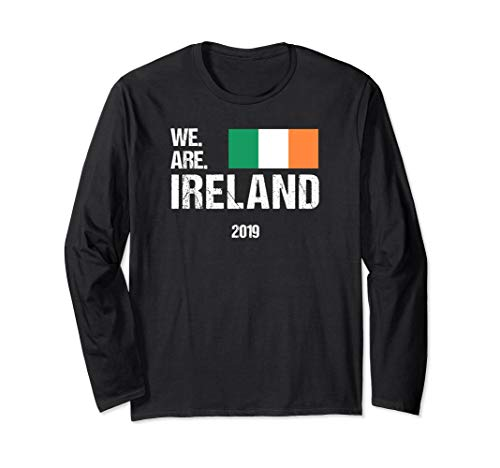 Rugby World Cup T-shirts - We Are Ireland, World Rugby Team Long Sleeve T-shirt 2019