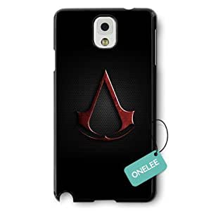 Assassins Creed Logo Black Hard Plastic Iphone 5/5S & Cover - Black 7 hjbrhga1544