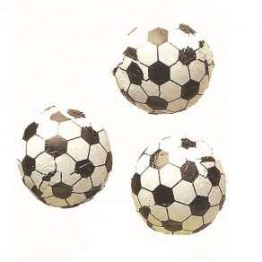 Chocolate Foil Soccer Balls (1 Lb - Approx 83 Pcs) Chocolate Balls Candy