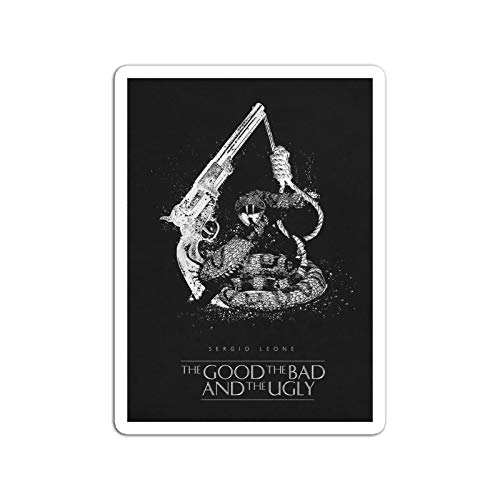 BreathNenStore Sticker Motion Picture The Good The Bad and The Ugly Movies Video Film (3
