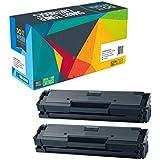 Do it Wiser ® - 2 Cartuchos de Tóner Compatibles para Samsung MLT-D111S/ELS Xpress SL-M2020 SL-M2022 SL-M2026 SL-M2070 SL-M2078
