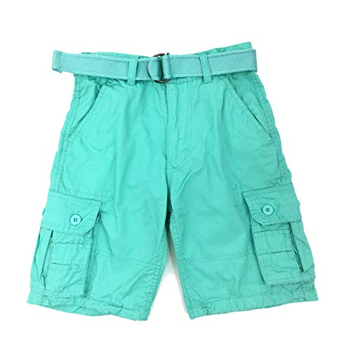 Henry Mint - Henry & Willaim Boy's Cargo Shorts with 22 Variety of Colors-Mint