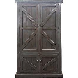 American Heartland Rustic Double Door Pantry