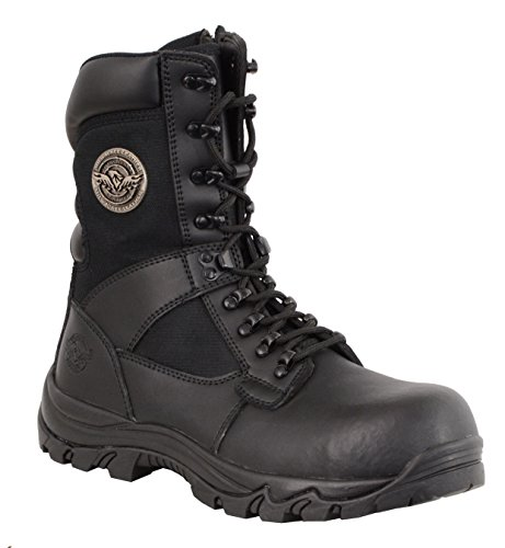 Composite Boot Nylon (Milwaukee Performance Men's Leather Tactical Boots with Composite Toe (Black, Size 10))