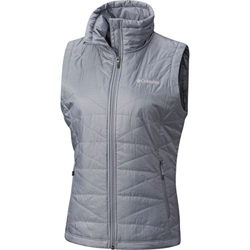 Columbia Women's Mighty Lite iii Vest, Grey Ash, X-Small by Columbia