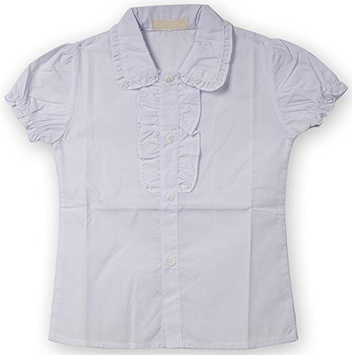 Ruffle Button Down Shirt - 6