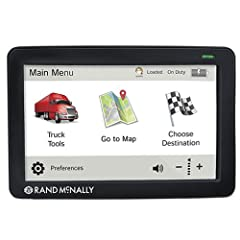 """TheRand McNally TND730LMcomes with an expanded range of Wi-Fi connected services, such as weather and fuel prices. The device has a 7"""" wide screen and comes with Lifetime Maps updates. The GPS features fuel and mileage logs, driving timers ..."""