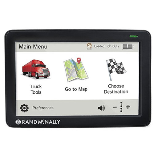 Rand McNally TND730 IntelliRoute GPS Truck Navigator - Renewed