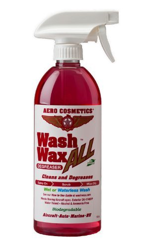 Wheel Tire & Engine Cleaner Degreaser for your Car Aircraft RV Wash Wax ALL Degreaser by Aero Cosmetics
