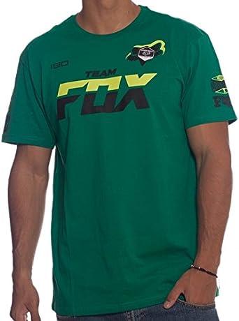 Camiseta Fox Racing: Team Fox tee GN: Amazon.es: Ropa y accesorios