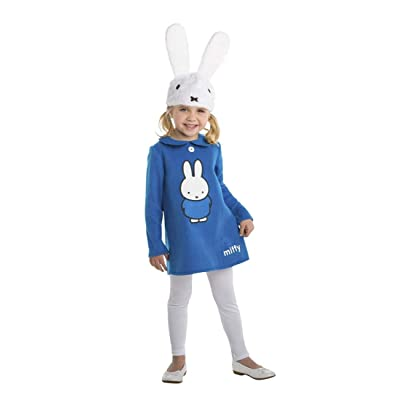 Palamon Miffy Blue Dress Toddler Costume: Clothing