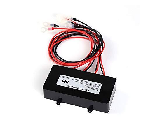DPJ Batteries Voltage Equalizer Balancer for Li li-ion Lead Acid Battery Connected in Parallel Series for 24v 36v 48v Control
