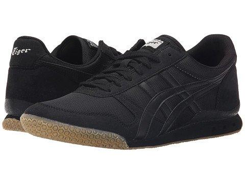 (オニツカタイガー) Onitsuka Tiger ユニセックスランニングシューズスニーカー靴 Ultimate 81R [並行輸入品] B0755NZW5F Men's 7.5, Women's 9 (25.5cm(レディース26cm)) M Black/Black 2