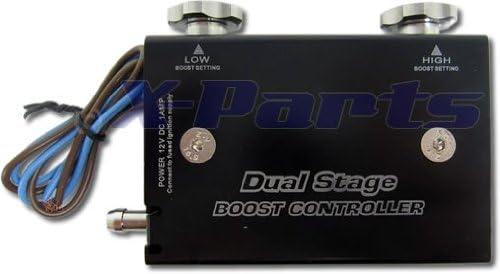 Tickas Controller Turbo Boost elettronico Dual Stage,Kit regolatore boost Boost per turbocompressore PSI elettronico Dual Stage