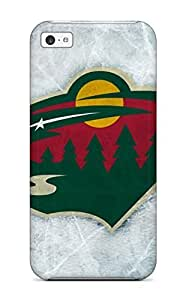 meilinF000New Fashion Premium Tpu Case Cover For iphone 4/4s - Minnesota Wild Hockey Nhl (44)meilinF000