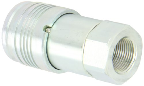 Dixon 6HTF6 Steel Flush Face Hydraulic Quick-Connect Fitting, Coupler, 3/4'' Coupling x 3/4''-14 NPTF by Dixon Valve & Coupling (Image #2)