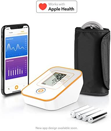 Choice Smart Upper Arm Blood Pressure Monitor: Wireless, Medically Accurate Upper Arm Cuff. Free App for iOS, Android