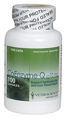 Vetri-Science Coenzyme Q10 Dog & Cat Supplement from Vetri-Science