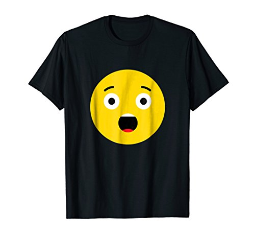 Surprised Shocked Emoji Group Costume Funny Halloween Shirt for $<!--$14.98-->
